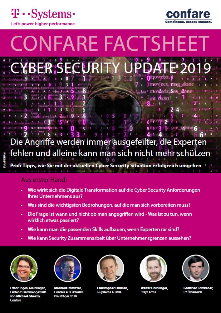 Cyber Security Factsheet 2019